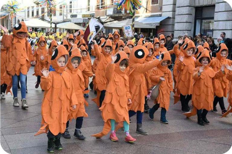 Dubašljani na Dječjem karnevalu u Rijeci